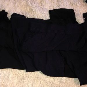 Divided for H&M Black & Dark Blue 2 Pants Sz 12